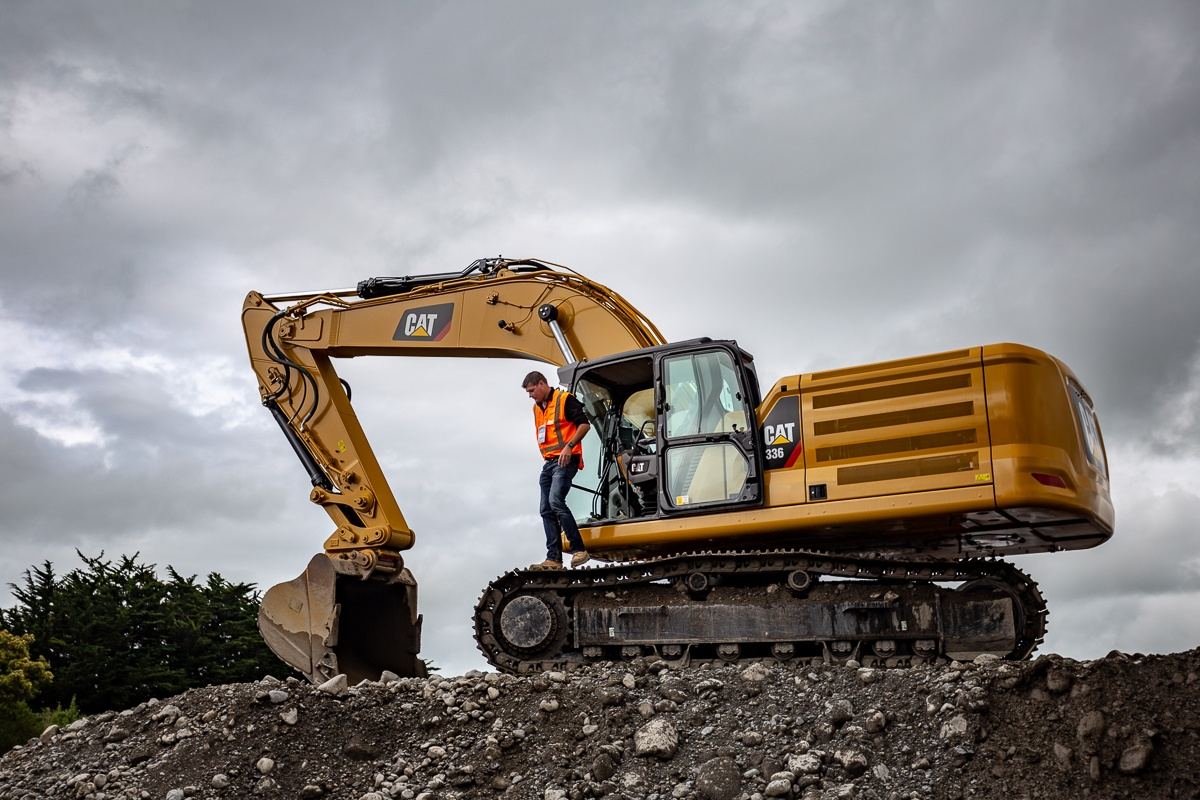 CAT next-gen 336 Excavator